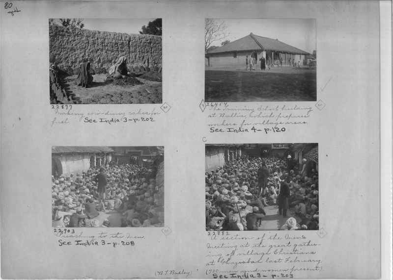 Mission Photograph Album - India - O.P. #01 Page 0080