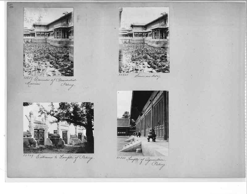 Mission Photograph Album - China #10 pg. 0154