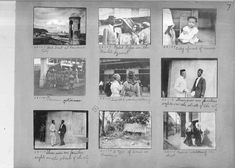Mission Photograph Album - Panama #02 page 0007