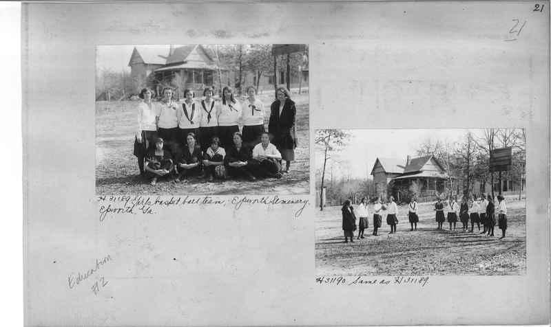 Mission Photograph Album - Education #2 page 0021