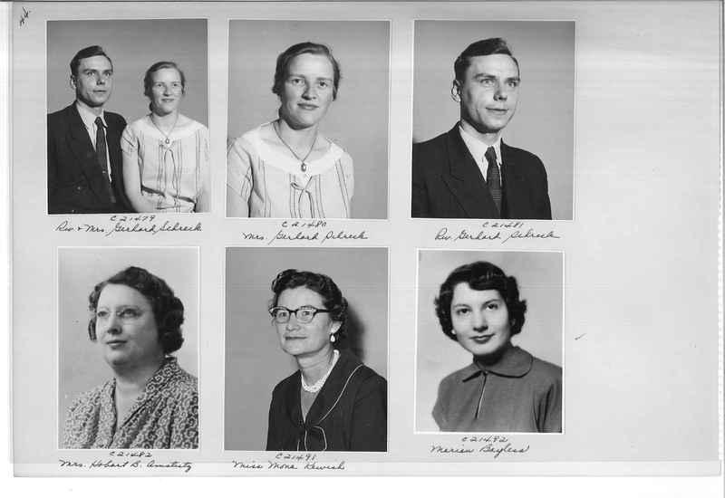 Mission Photograph Album - Portraits #10 Page 0044