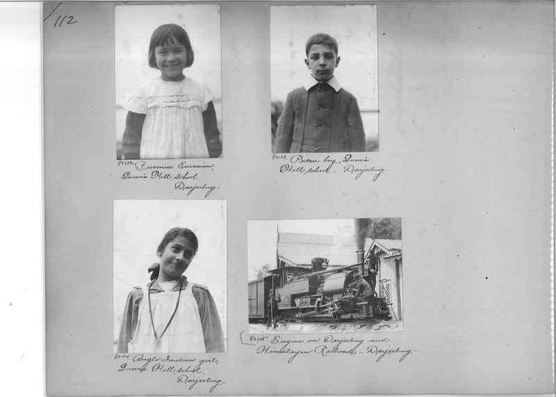 Mission Photograph Album - India #09 Page 0112