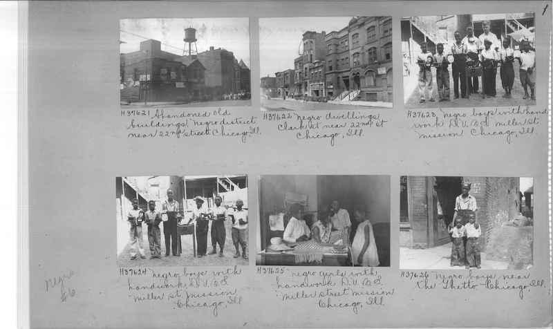 Mission Photograph Album - Negro #6 page 0001