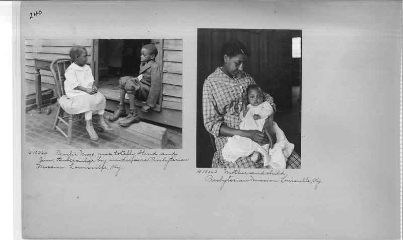 Mission Photograph Album - Negro #2 page 0240