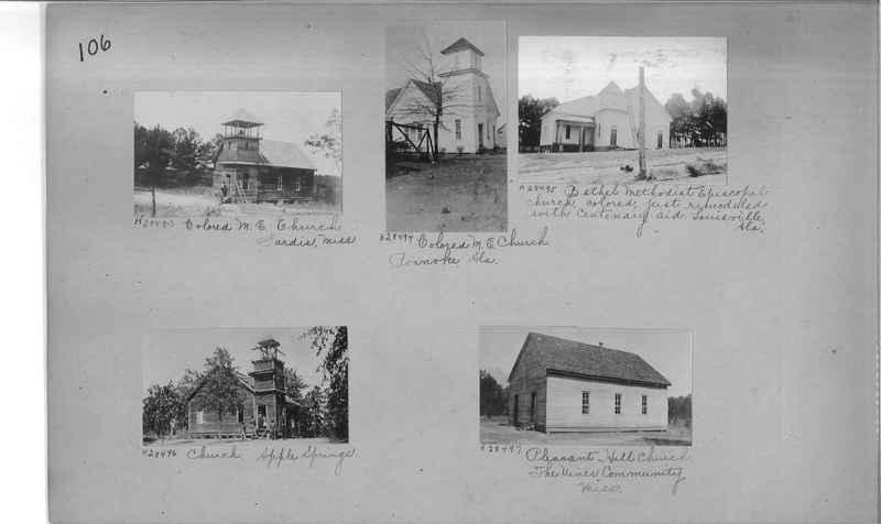 Mission Photograph Album - Negro #4 page 0106