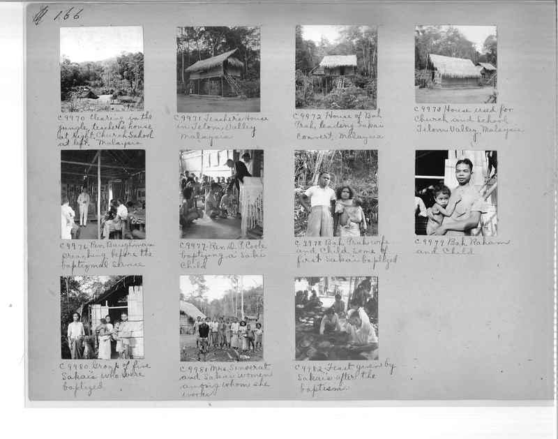 Mission Photograph Album - Malaysia #7 page 0166