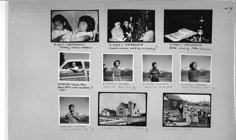 Mission Photograph Album - Alaska #2 page 0049
