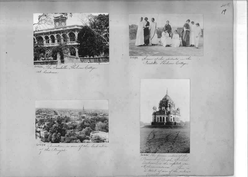 Mission Photograph Album - India #08 Page 0019