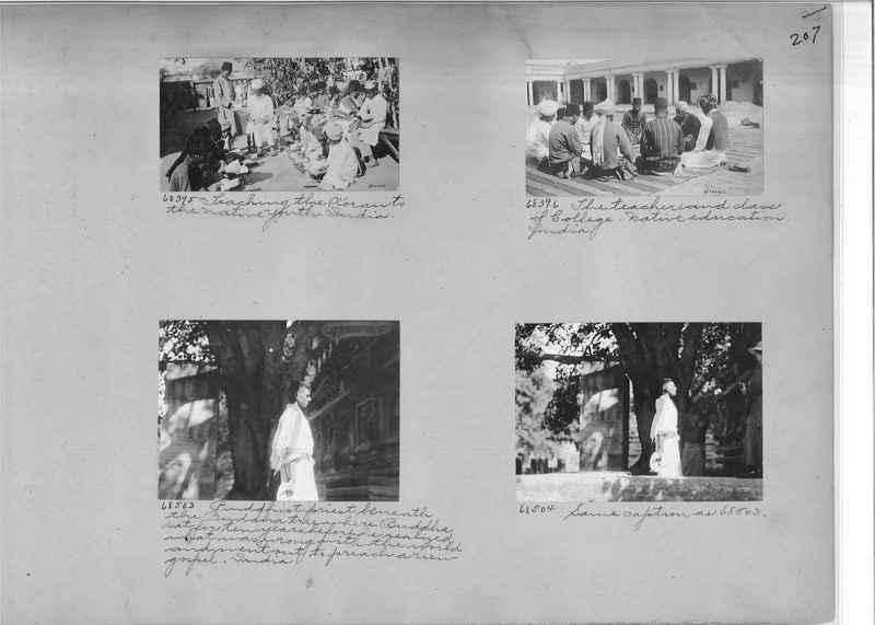 Mission Photograph Album - India #08 Page 0207