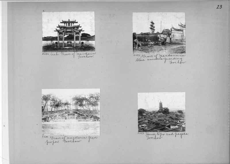 Mission Photograph Album - China #2 page  0023