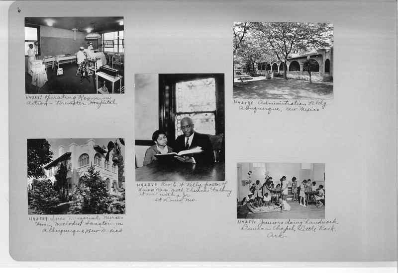 Mission Photograph Album - Negro #7 page 0006