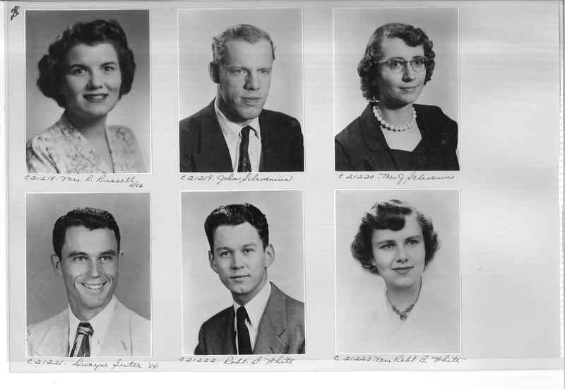 Mission Photograph Album - Portraits #10 Page 0028