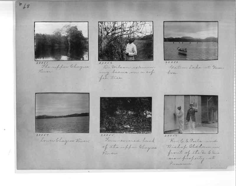 Mission Photograph Album - Panama #1 page  0068