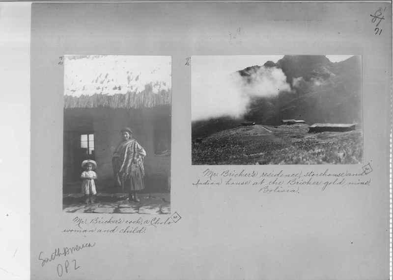 Mission Photograph Album - South America O.P. #2 page 0071