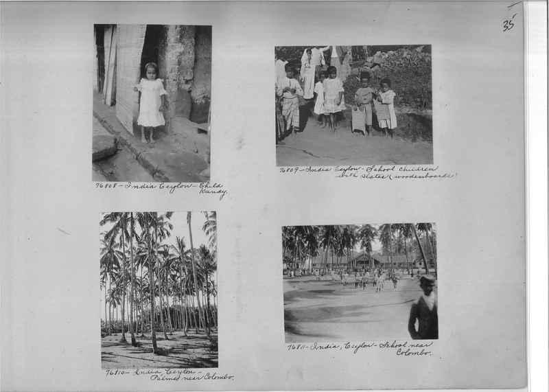 Mission Photograph Album - India #09 Page 0035