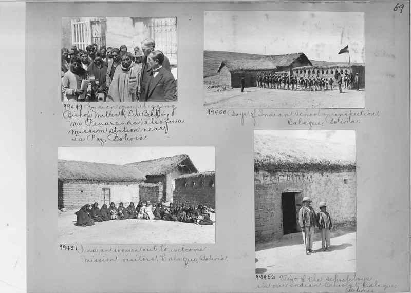 Misson Photograph Album - South America #8 page 0069