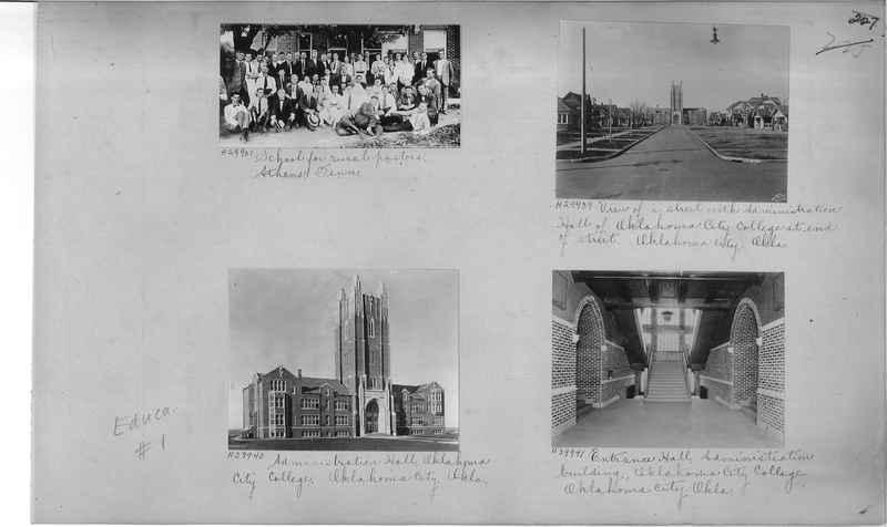 Mission Photograph Album - Education #1 page 0227