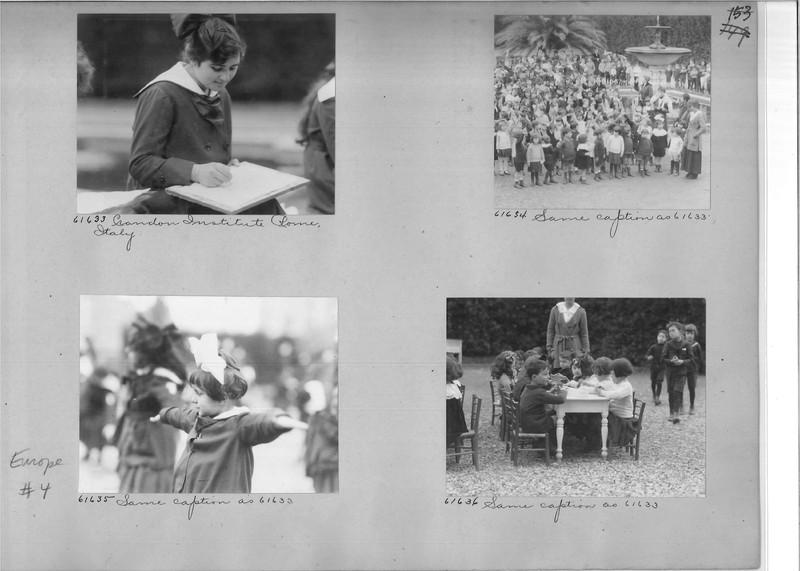 Mission Photograph Album - Europe #04 Page 0153