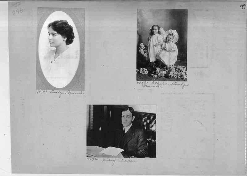 Mission Photograph Album - Portraits #2 page 0079