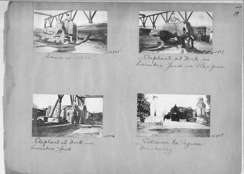 Mission Photograph Album - Burma #1 page 0019