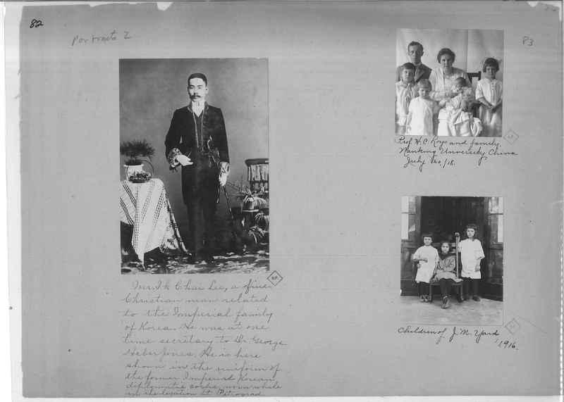 Mission Photograph Album - Portraits #2 page 0082