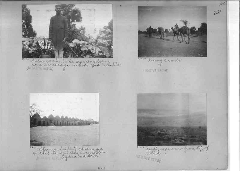 Mission Photograph Album - India #09 Page 0231