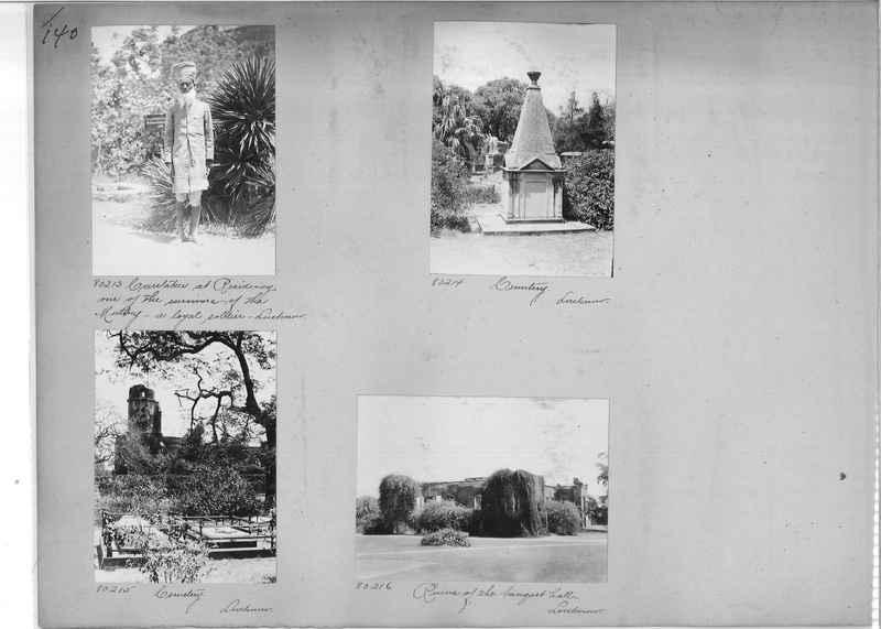 Mission Photograph Album - India #09 Page 0140