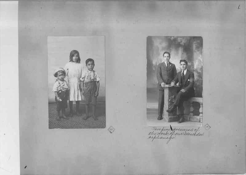 Mission Photograph Album - South America O.P. #1 page 0001