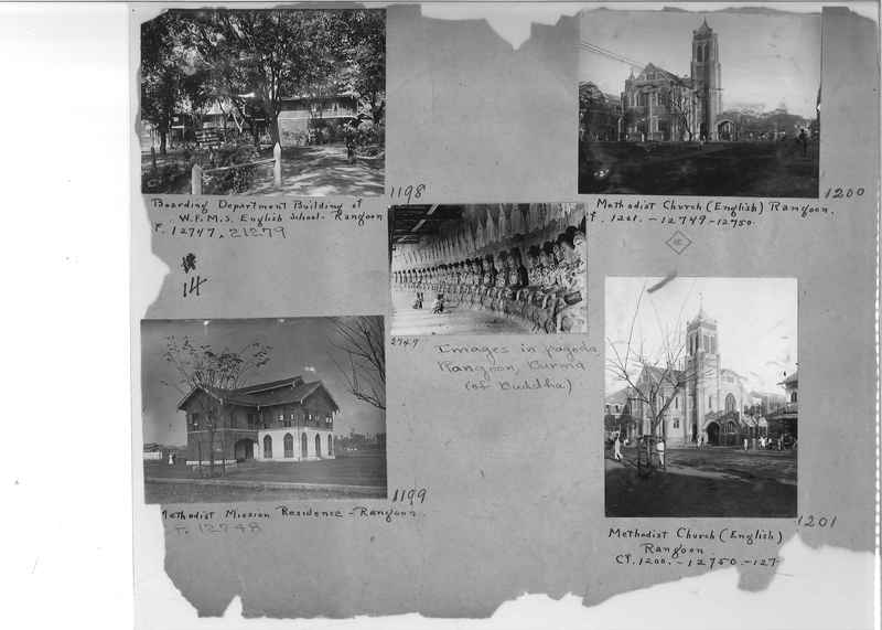 Mission Photograph Album - Burma #1 page 0014