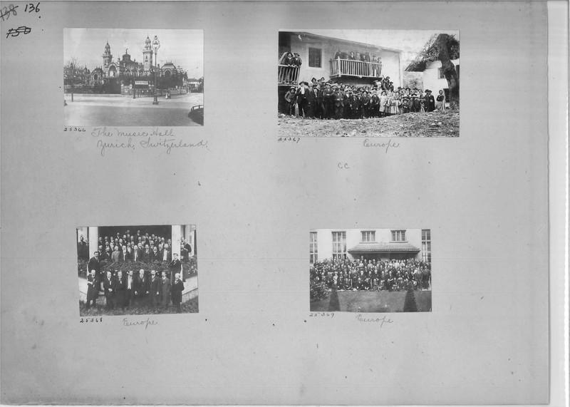 Mission Photograph Album - Europe #01 Page 0136