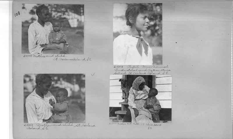 Mission Photograph Album - Negro #2 page 0108