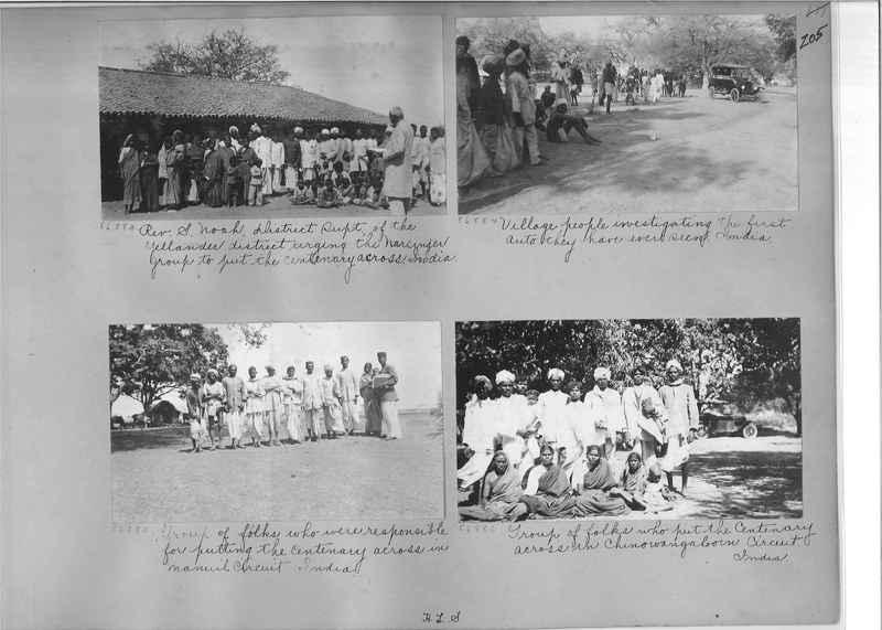 Mission Photograph Album - India #09 Page 0205