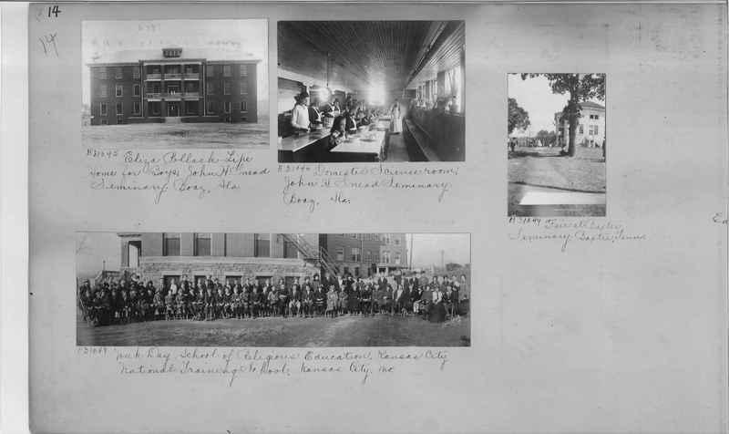 Mission Photograph Album - Education #2 page 0014