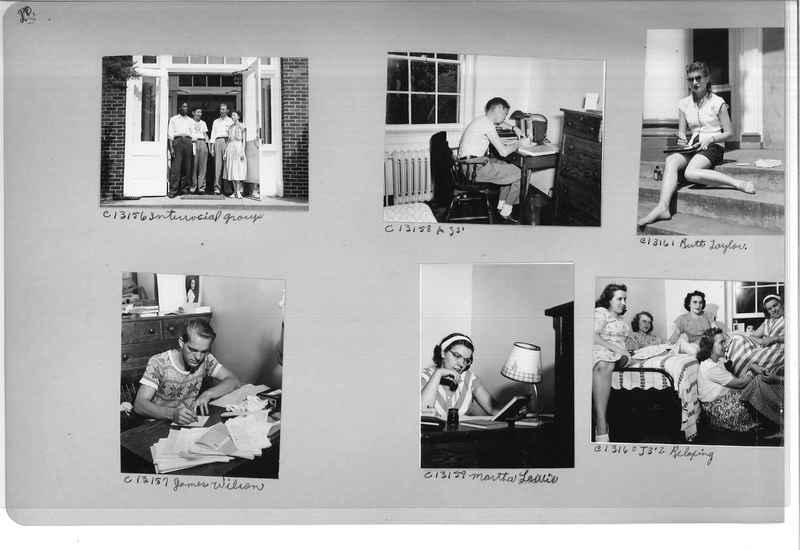 Mission Photograph Album - Portraits #13 Page 0020