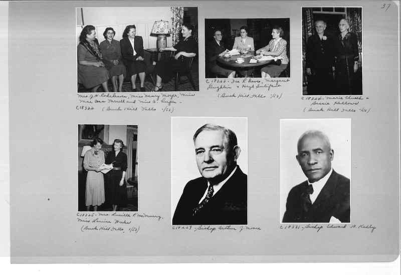Mission Photograph Album - Portraits #08 Page 0037