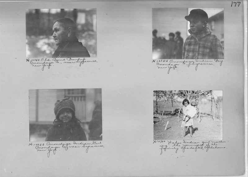 Mission Photograph Albums - Indians #1 page 0177