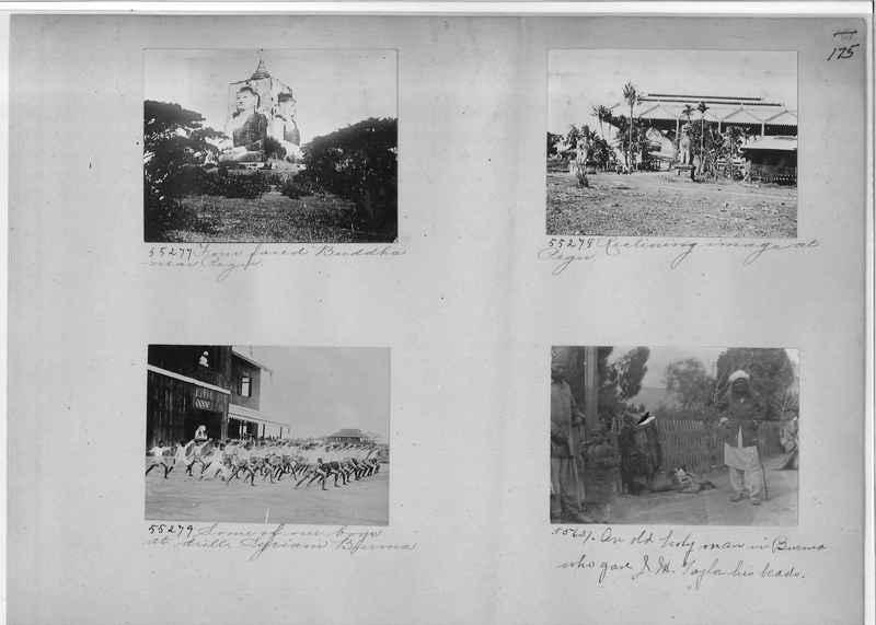 Mission Photograph Album - Burma #1 page 0175