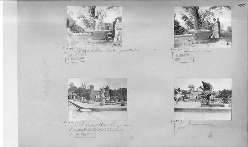 Mission Photograph Album - Puerto Rico #2 page 0195