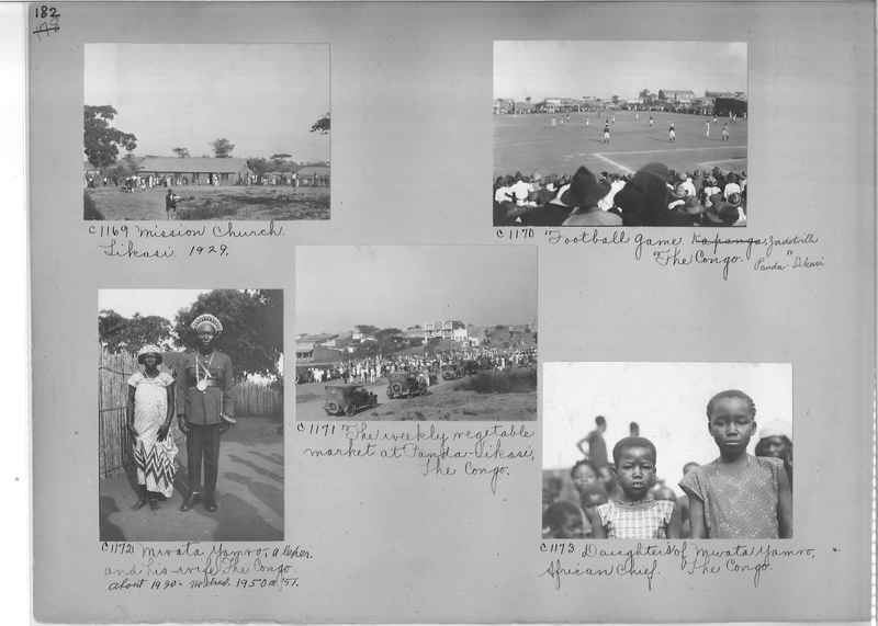 Mission Photograph Album - Africa #14 page 0182