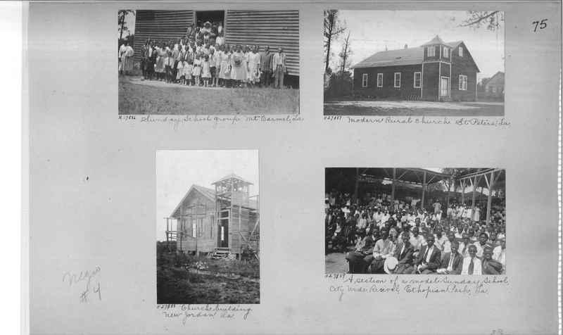 Mission Photograph Album - Negro #4 page 0075