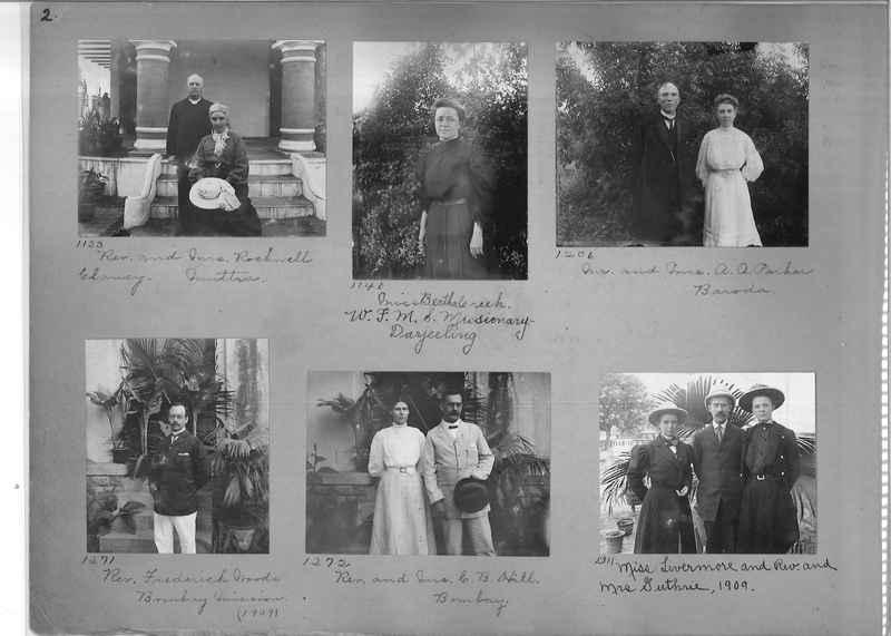 Mission Photograph Album - Portraits #1 page 0002