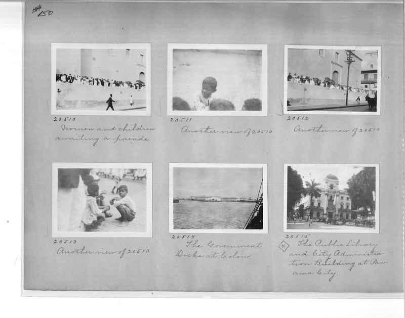 Mission Photograph Album - Panama #1 page  0150