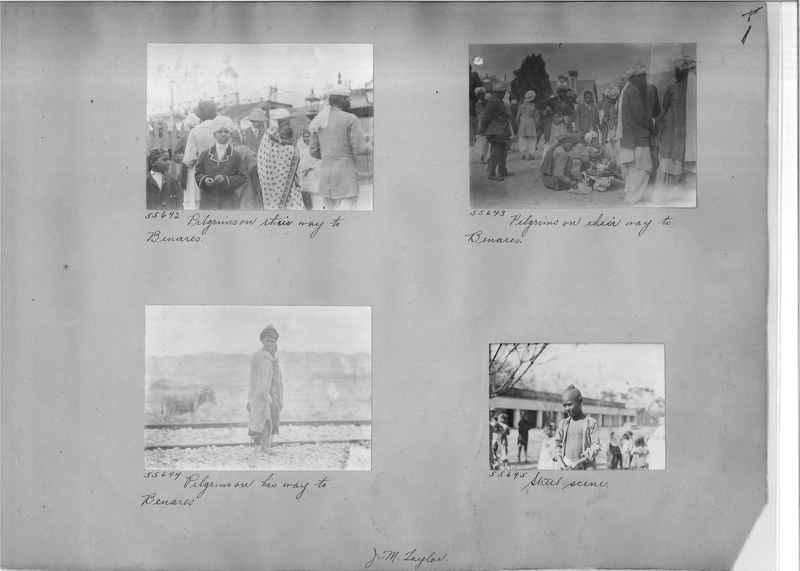 Mission Photograph Album - India #08 Page 0001