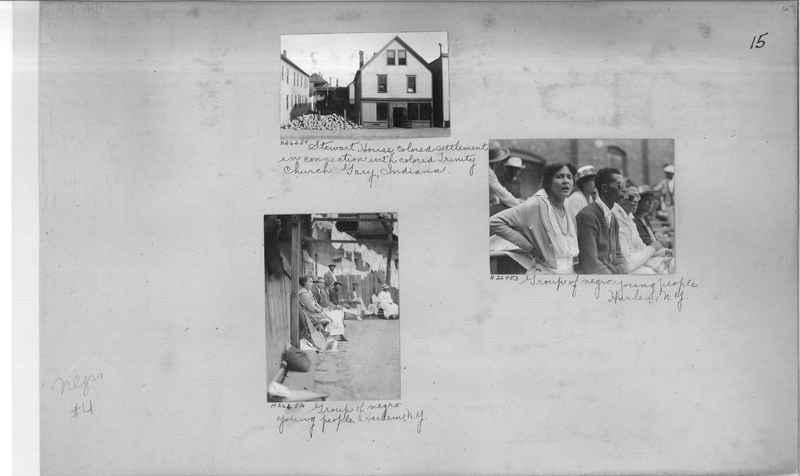 Mission Photograph Album - Negro #4 page 0015
