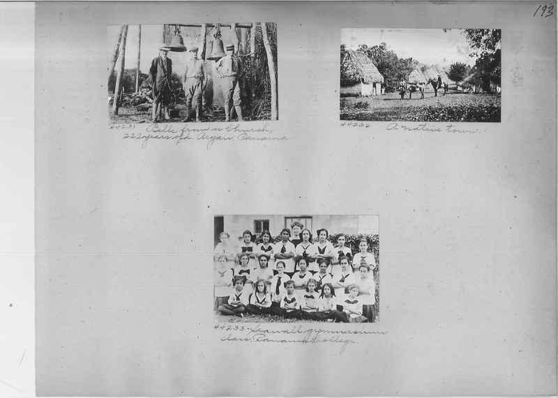 Mission Photograph Album - Panama #02 page 0193