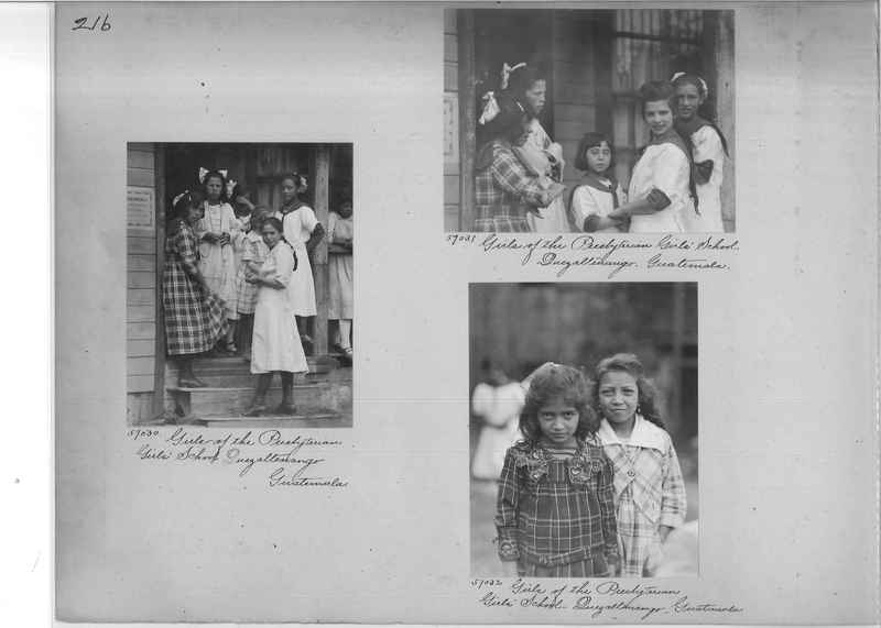 Mission Photograph Album - Panama #02 page 0216