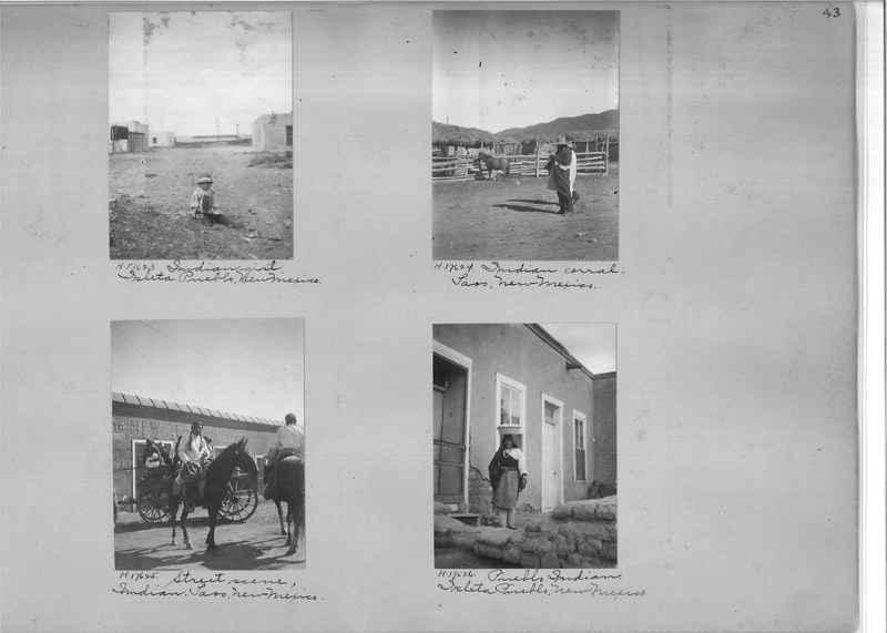 Mission Photograph Album - Indians #2 page_0043
