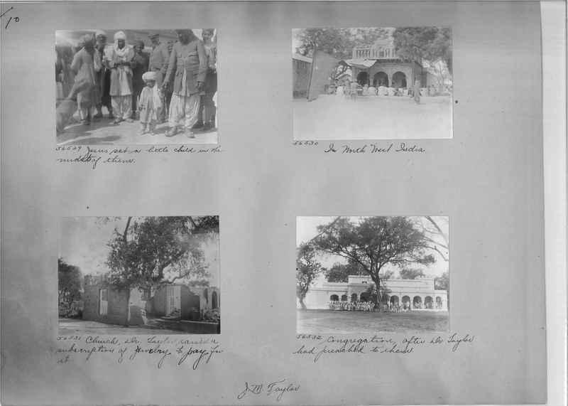 Mission Photograph Album - India #08 Page 0010
