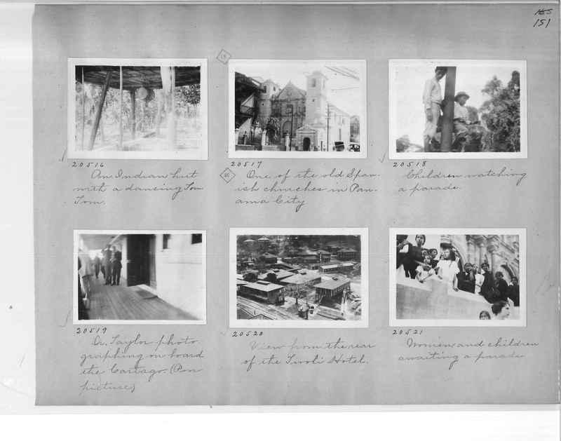 Mission Photograph Album - Panama #1 page  0151