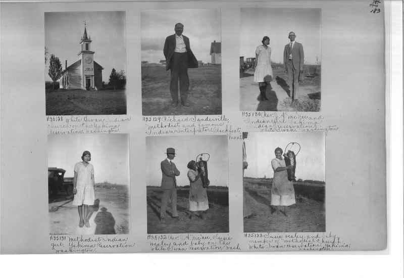 Mission Photograph Album - Indians #2 page_0183
